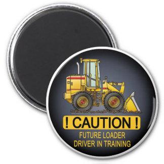 Zukünftiger Lader-Fahrer-Magnet Runder Magnet 5,7 Cm