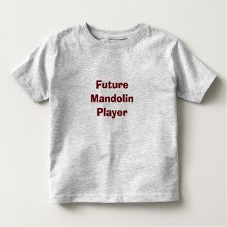 Zukünftiger Mandolinen-Spieler Kleinkinder T-shirt