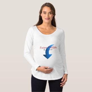 Zukünftiger Mutterschaftsfeuerwehrmann Schwangerschafts T-Shirt