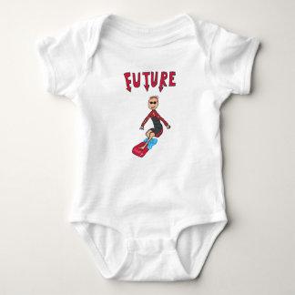 Zukünftiger Surfer Baby Strampler