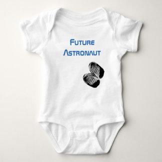 Zukünftiges Astronauten-Baby Bootprints Baby Strampler