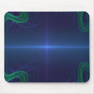 Zukünftiges dünnes Blue Line Mousepad