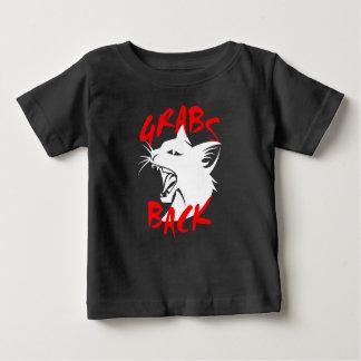 Zupacken-zurück Baby-dunkler Jersey-T - Shirt