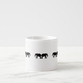 Zurück zu hinterem Elefant-Entwurf Espressotassen