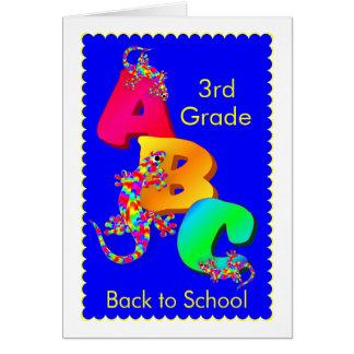 Zurück zu Schulermutigungs-Karte für Kinder Grußkarte