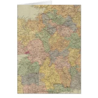 Zusammengesetztes Irland 2 Grußkarte