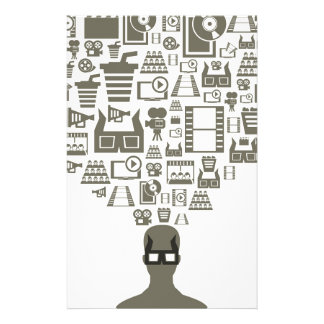Zuschauer Individuelles Büropapier