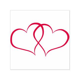 Zwei Herzen in der Liebe Permastempel