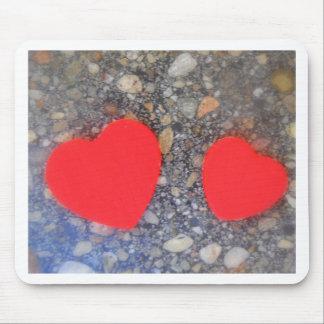 zwei Herzen zwei Herzen Mauspad