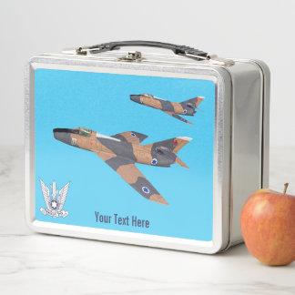 Zwei israelisches SuperMystères Metall Lunch Box