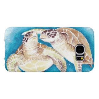 Zwei Meeresschildkröten