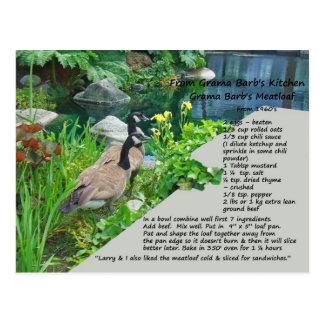 Zwei Rezept-Postkarte Postkarte