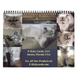 Zwei Seiten-kundenspezifischer Kalender, mittlere Abreißkalender
