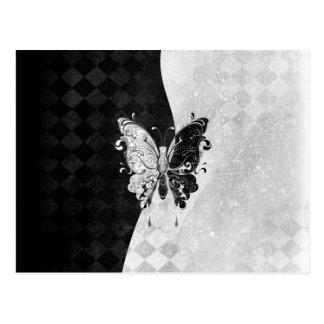 Zwei Ton-Schmetterling Postkarte