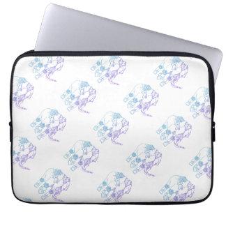 Zwei-Ton verschönerte Elefant-Laptop-Hülse Laptopschutzhülle