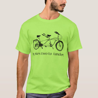 Zwei zum Tandem T-Shirt