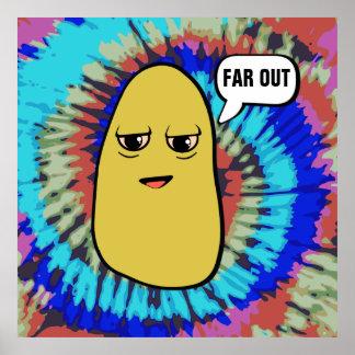 Zweimal gebackene Kartoffel Poster
