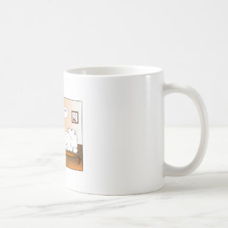 Zweipoliges Cartoon Coffe eMug Kaffeetasse
