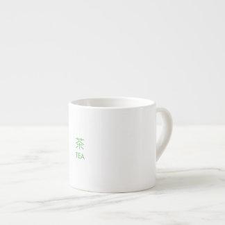 Zweisprachige Tasse Espresso-Tassen
