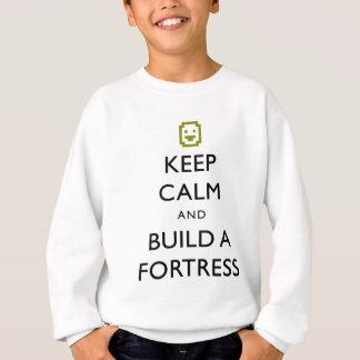 Zwergartige Festung behalten Ruhe und errichten Sweatshirt