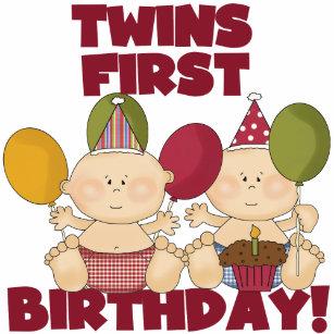 1 Geburtstag Zwillinge Geschenke Zazzle At