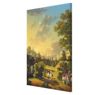 Zwischen Napoleon I und Ferdinand treffen III Gespannte Galeriedrucke