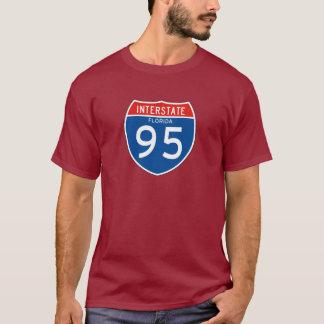 Zwischenstaatliches Zeichen 95 - Florida T-Shirt