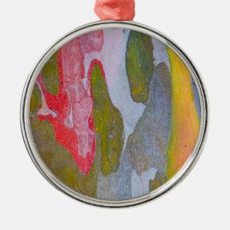 Zypresse-Baumrindemuster, Italien Silbernes Ornament